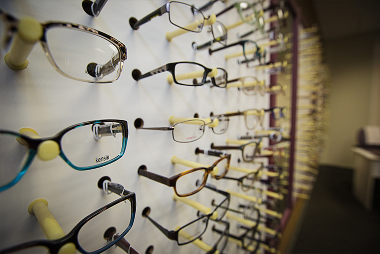 an image of the Low Vision Clinic optical section