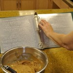 braille recipe book at society for the blind