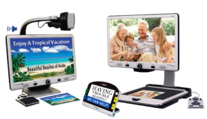 Low vision tools and devices