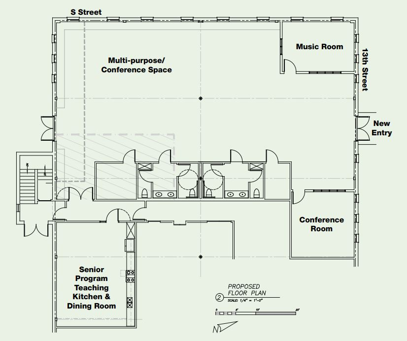 Build-out Floor Plan