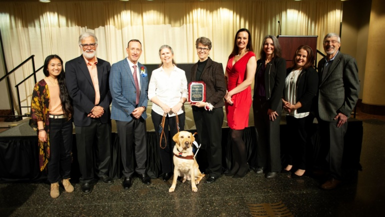 Society Honored by Sierra Sacramento Valley Medical Society