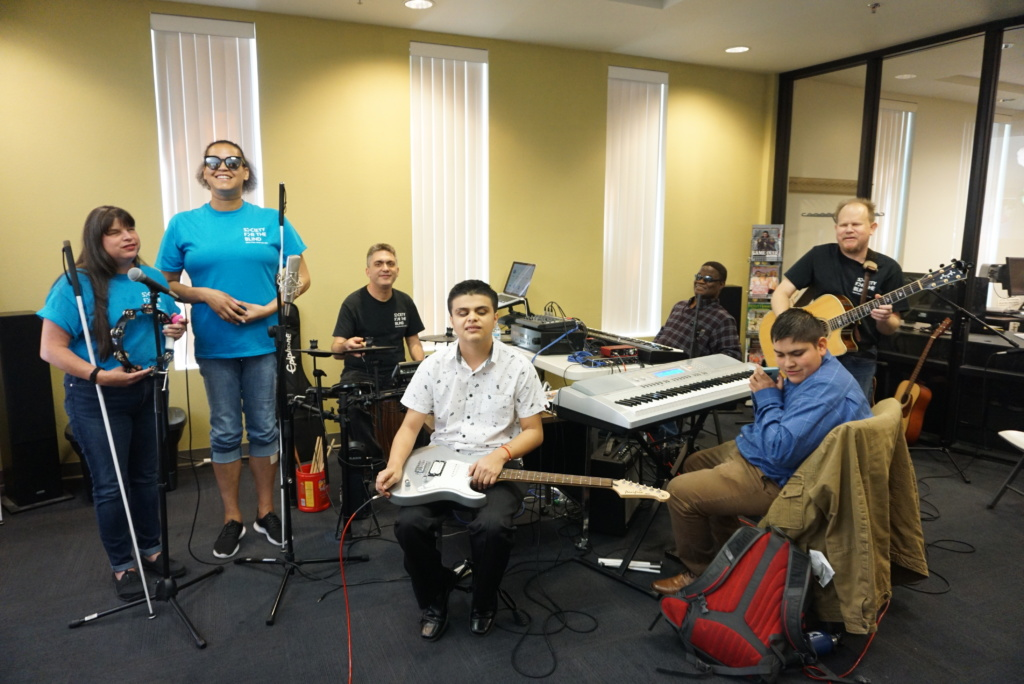 Society for the Blind's Music Support Group on Big Day of Giving