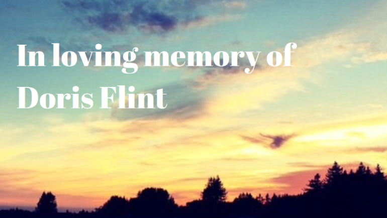 Remembering Doris Flint:  Board Member and Champion for Society for the Blind