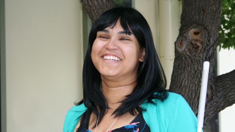 Meet Orientation and Mobility Instructor Liz Campos