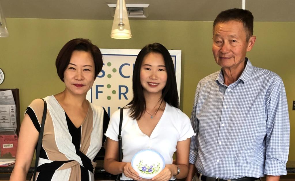 Stephanie Chang, Tina Chang, and Ishun Chang
