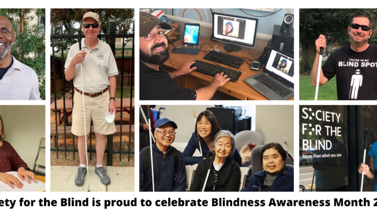 More Than What You See – Blindness Awareness Month